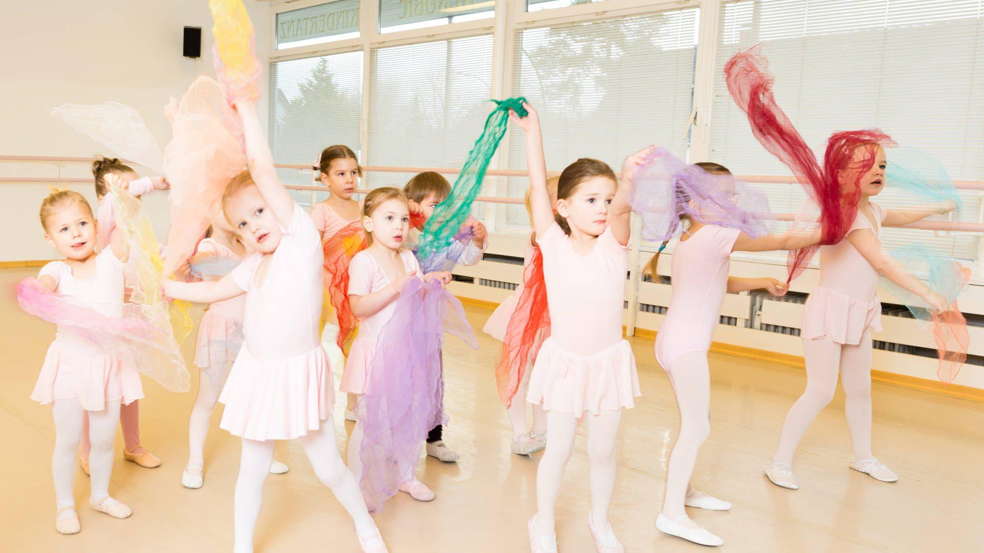 Tanzen für 3 u. 4-Jährige - Probestunden am 23. und 30.9.