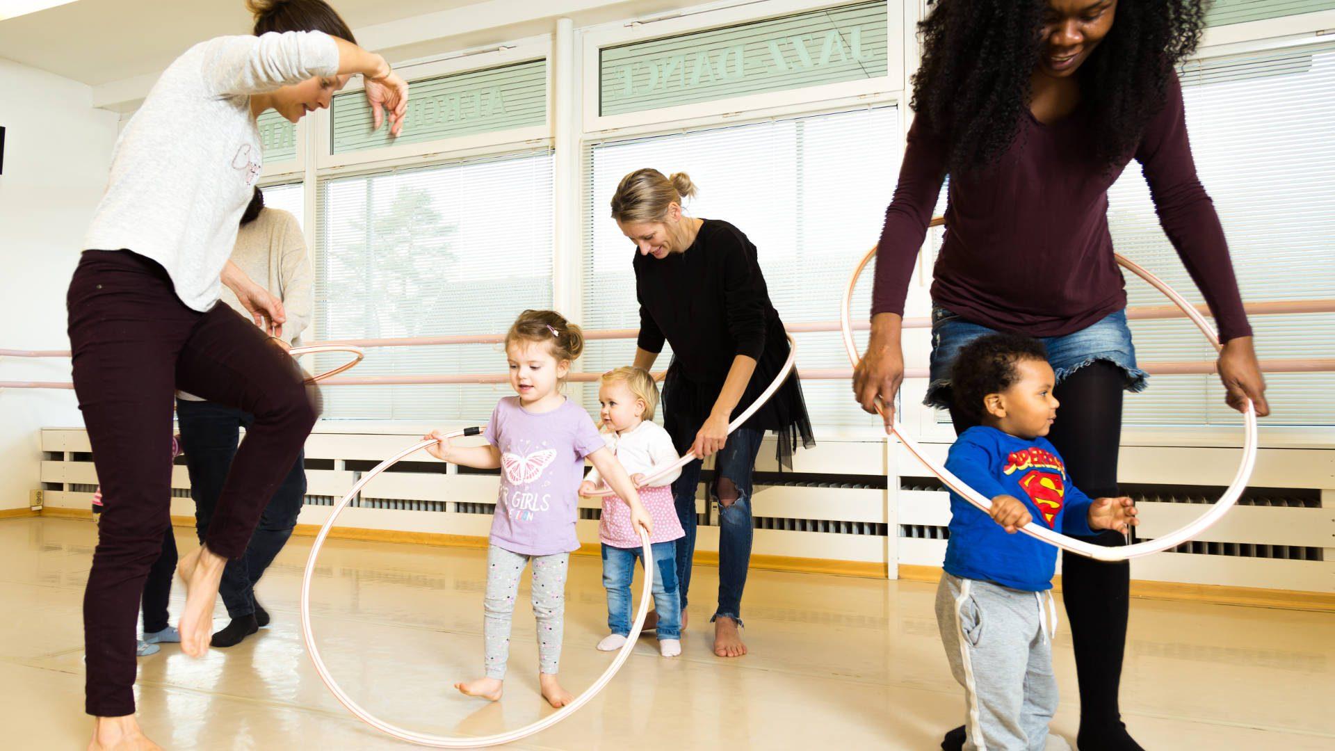 Mini-Tänzer ab Februar neue Zeiten