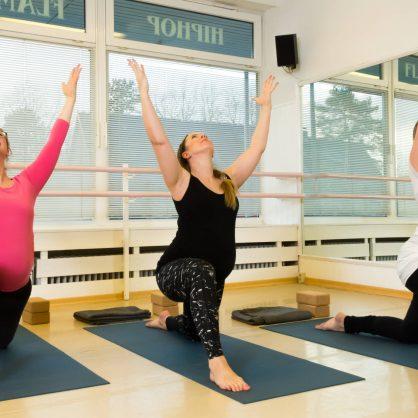 Yoga für Schwangere am 19.5. erst um 19:45 Uhr
