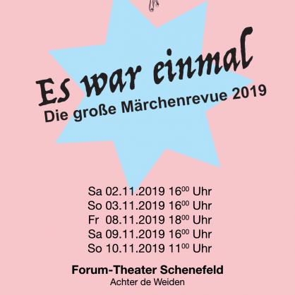 """Das war's... Show 2019 """"Es war einmal"""" - Die große Märchenrevue"""