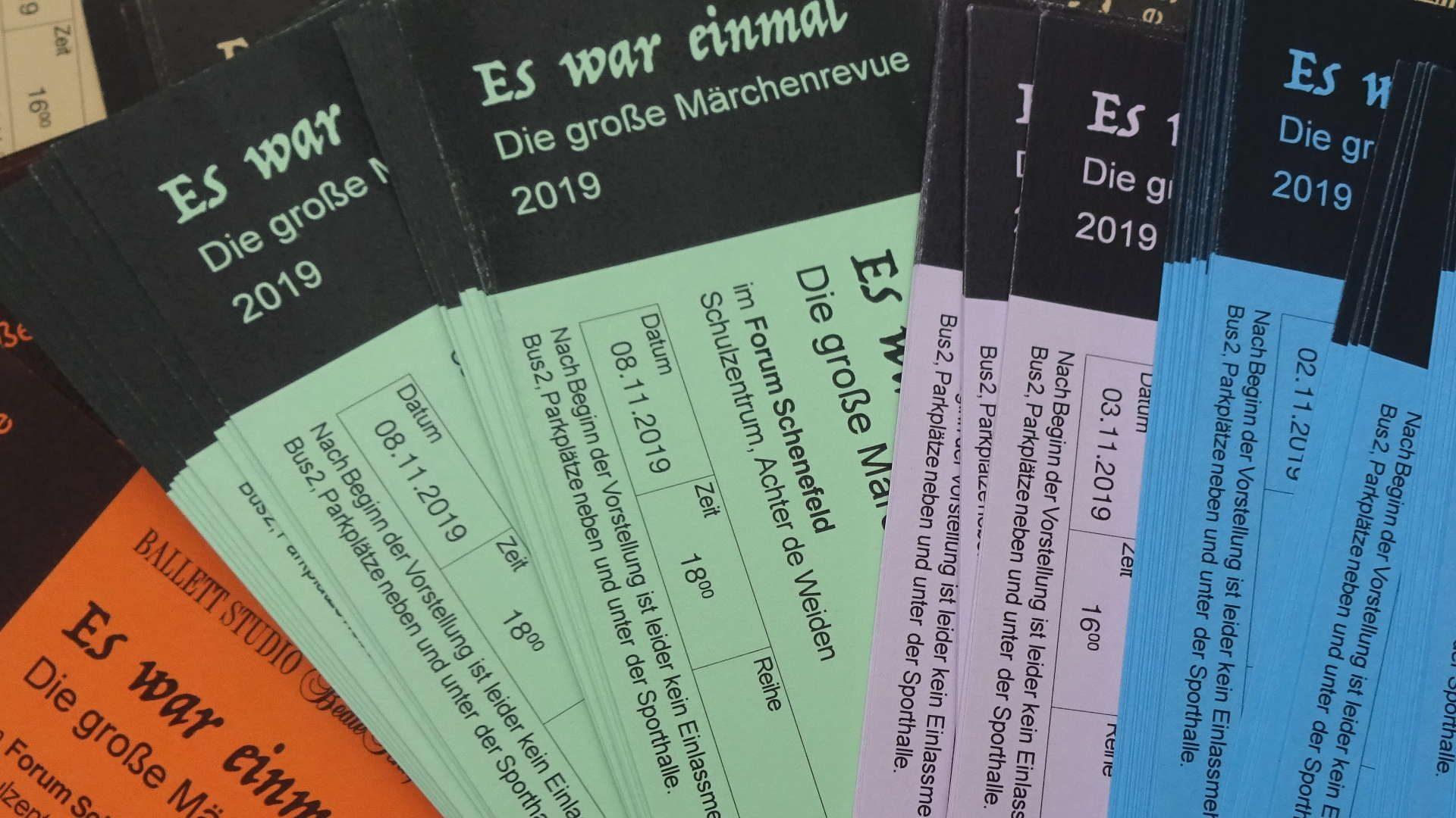 Show 2019 - Der Kartenverkauf beginnt...